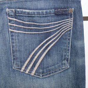7 for all mankind womens dojo jeans size 31 R